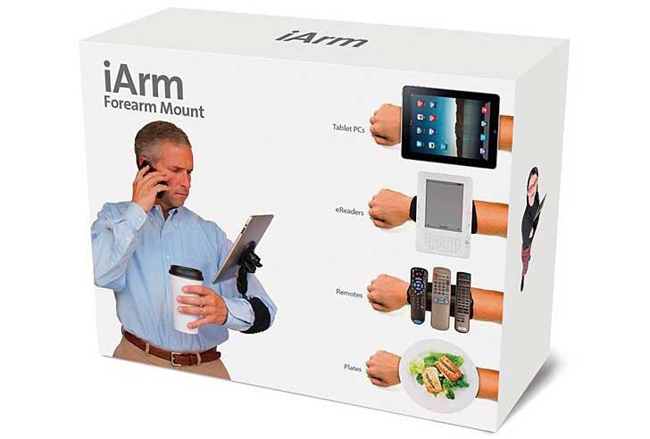 """""""I arm"""". Bild från Prankpack.com."""