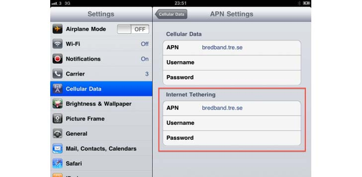 Ipad får tethering? Bild via 9to5mac.com