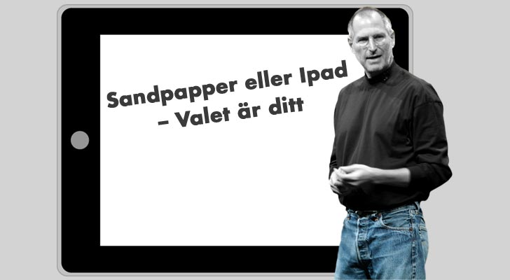Illustration: Media.nu (foto Steve Jobs: Acaben/flickr)