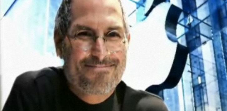 Stillbild från dokumentären om Steve Jobs.