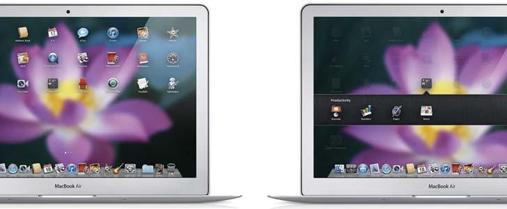 """Launchpad i """"Lion"""". Foto: Apple Inc"""