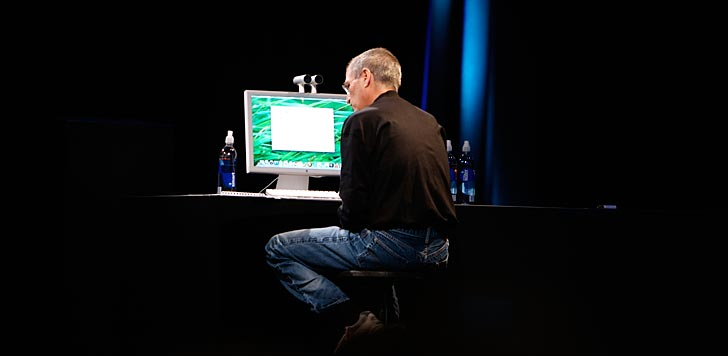 Steve Jobs. Foto: Ben Stanfield/flickr