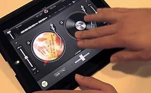 Djay för Ipad. Bild från video